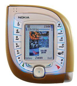 Nokia 7600 by Shritwod